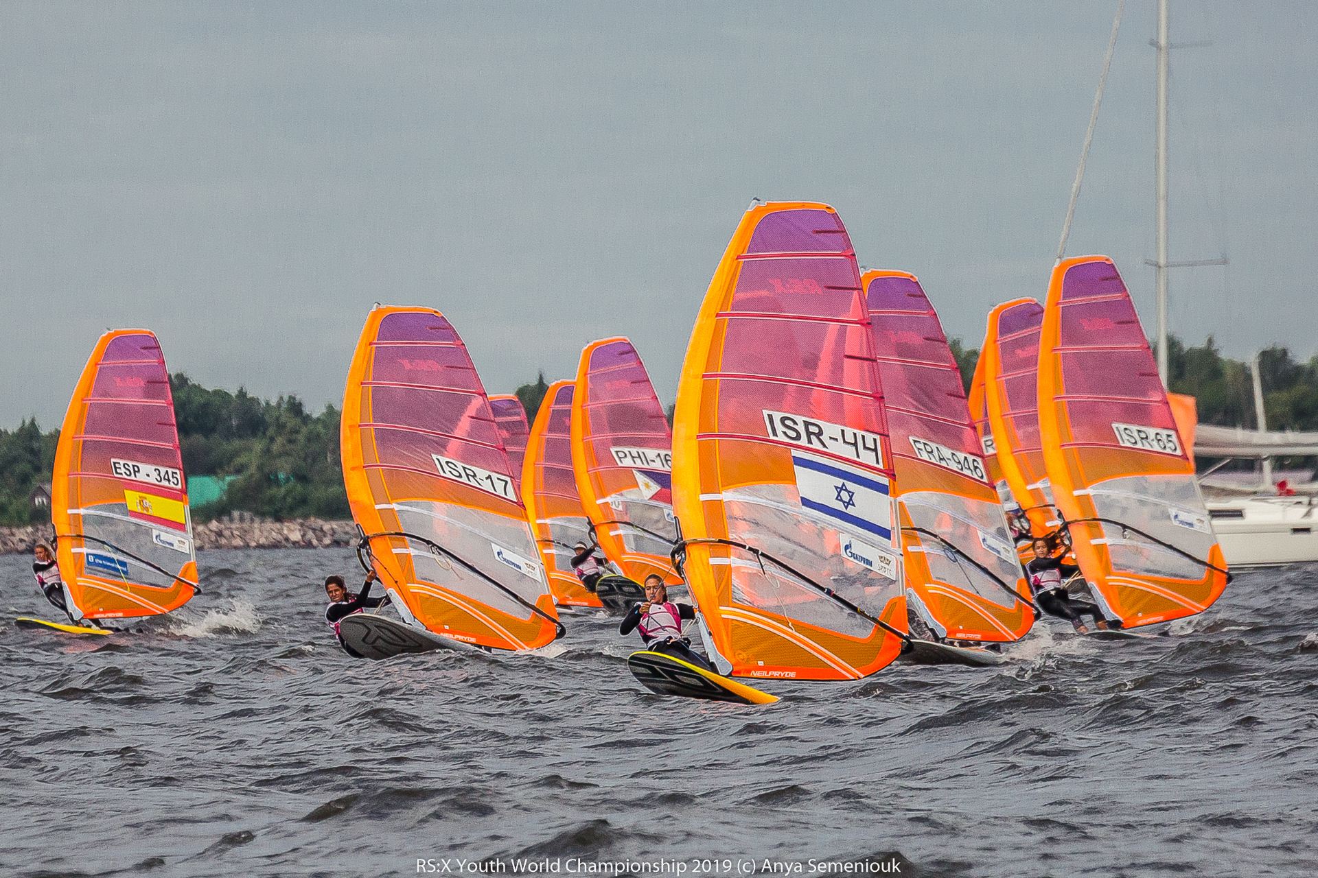 The Windsurfing RS:X Youth World Championship has started in Saint